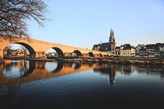 Viagem de um dia a Regensburg saindo...