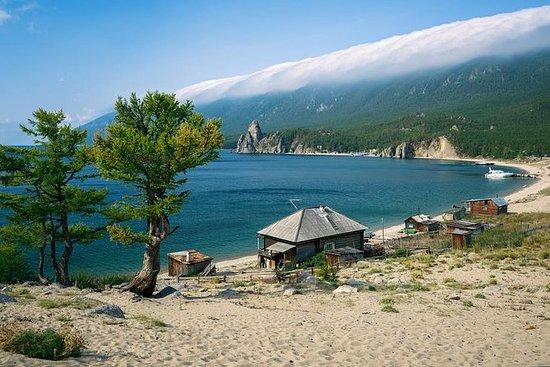 乘船游览贝加尔湖(Sandy Bay / Peschanaya Bay)