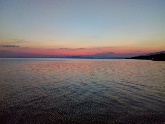 Kalamos, Yunanistan: Σουρουπο στη Παραλια