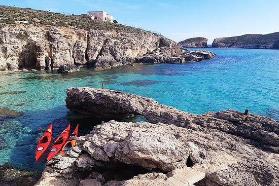 Kayak Gozo y Comino - ¡Impresionante...
