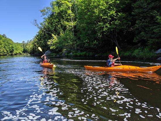 Bracebridge, Canada: South Falls 4 Hour Kayak Tour
