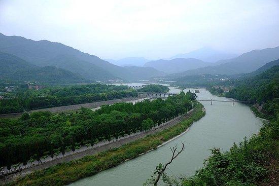 Irrigación de Dujiangyan y Mt...