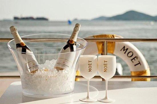 Moët & Chandon strandtour, watermat ...