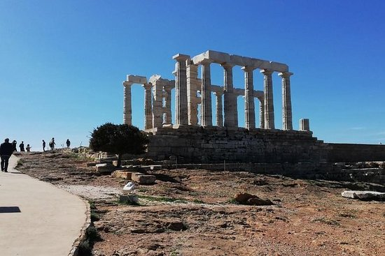 Tour privato guidato di Atene-Sounio