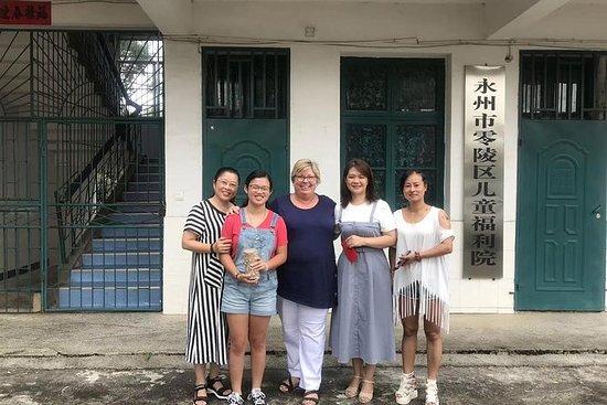 Barnehjem besøk tur i Hunan