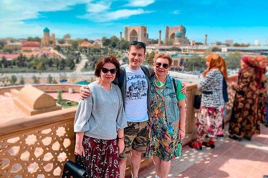 8天乌兹别克斯坦之旅 - 乌兹别克斯坦的4颗宝石