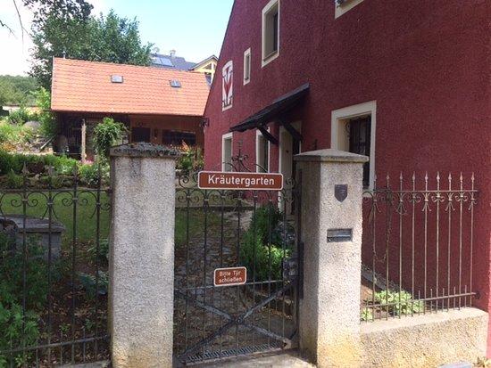 Kräeutergarten am Schloss