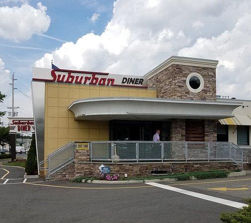 Suburban Diner: Entrance of Diner