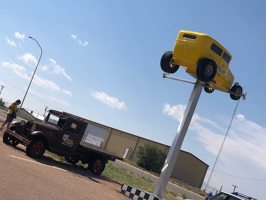 check out this chevy cab over truck - Picture of Route 66