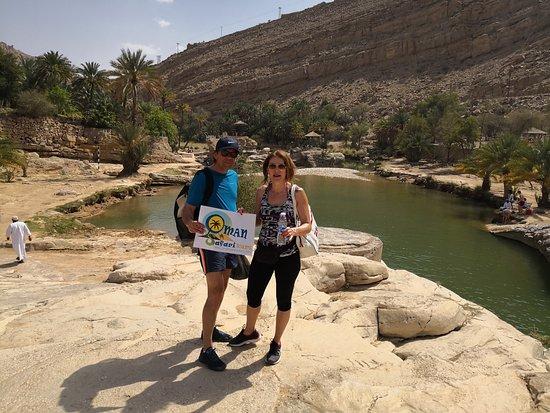 Wadi bani Khalid photo amezing view