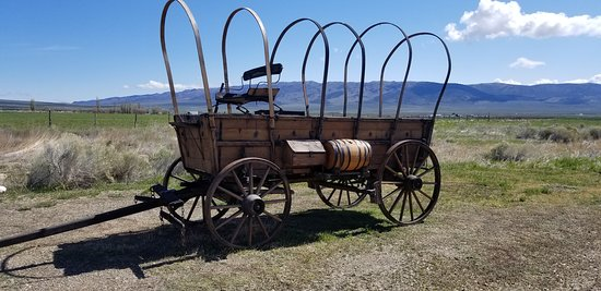 City Of Rocks National Reserve: Wagon for California trail