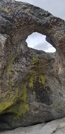 City Of Rocks National Reserve: Rock with hole