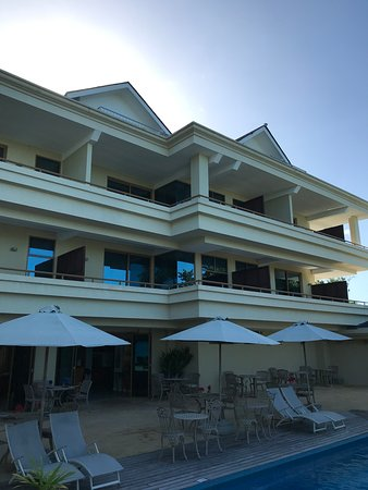 From Balcony Bild Von Crown Beach Hotel Mahe Tripadvisor