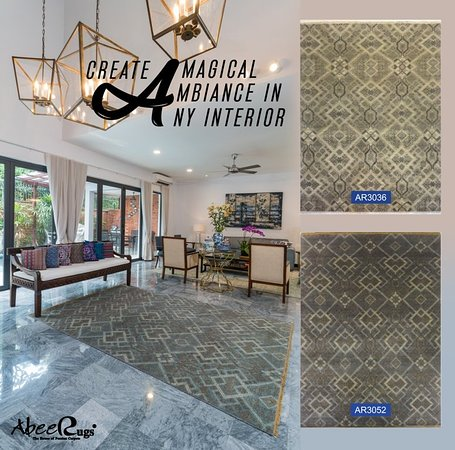 Abee Rugs Create magical ambition in any interior. Abee Rugs (The house of Persian carpets) bring magic to your floor.