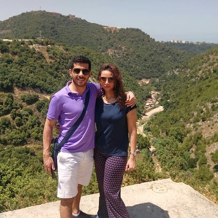 Li Băng: .a Spacial day with lovely couple on tour to jaeta grotto harisa and Byblos
