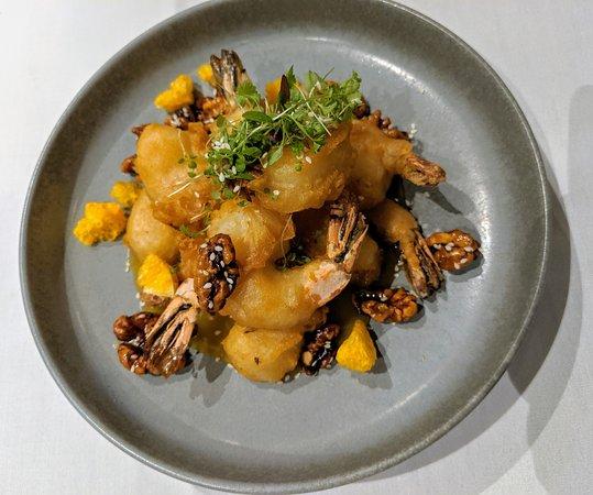 A very nice prawn dish