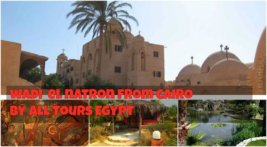 Wadi El Natrun, Egipt: Wadi El Natroun Monasteries Tours from Cairo All Tours Egypt representative will pick you up from your Cairo hotel, drive to enjoy Wadi El Natroun which considered the heart of Christianity and know more about the history of Christianity in Egypt (around 2 hours driving), enjoy Wadi El Natroun Tours from Cairo, Wadi El Natroun Area Consists of 50 Monasteries but for sorry Only 4 were survived. Firstly visiting the Oldest Monastery of Al Paramus and it's one of the famous monasteries in Egypt, th