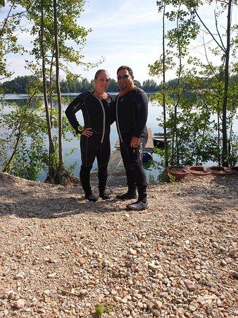 Enkenbach-Alsenborn, Németország: First open water dive