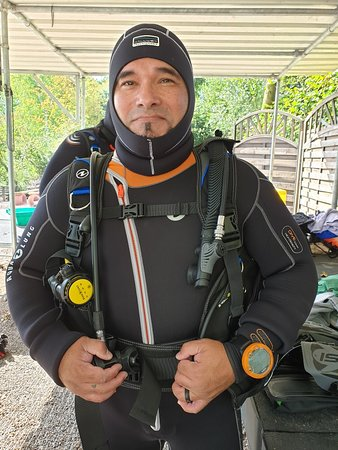 First open water dive