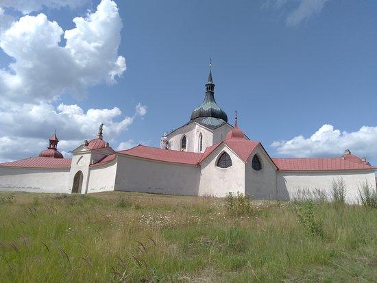 Zelena hora - Poutní kostel sv. Jana Nepomuckého na Zelené hoře