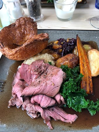 Braybrooke, UK: Roast beef