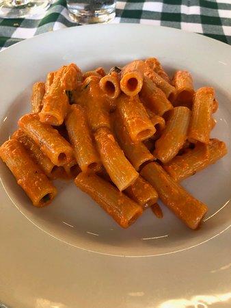 Carmine's Rosemont: Rigatoni with Vodka Sauce