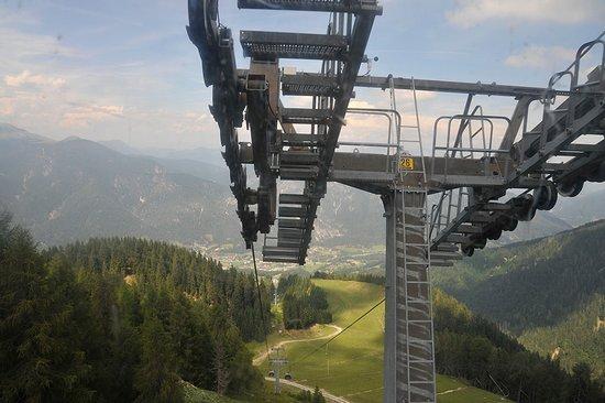 Telecabina Monte Lussari/Italia: Panorama