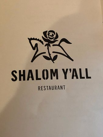 Shalom Y'all: Now you have the spelling and great logo