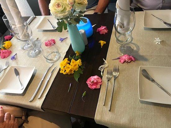 Restaurante Julius: Our table