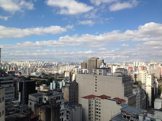 Edificio Martinelli: Visão da cidade do alto do Edifício Martinelli