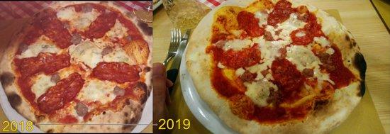 Spineto Scrivia, Italy: angolo dei gusti spineto, raffronto 2018 > 2019