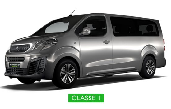 Pacos de Brandao, โปรตุเกส: Peugeot Traveller Longa ou similar