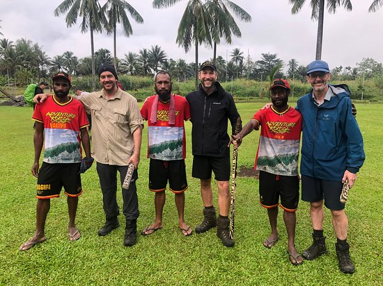 Kokoda - at the finish of Adventure Kokoda 10 day Premium Campaign trek 6-17 Jul 2019.