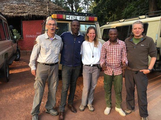 5 Days: Manyara, Serengeti And Ngorongoro Camping Safari.: Us, cook and guide.