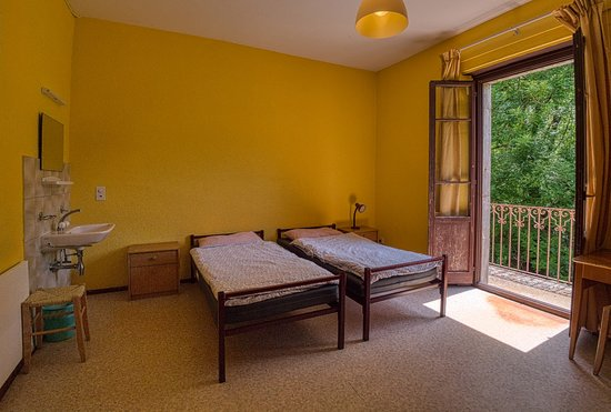 Monteggio, Svizzera: One of the rooms inside our house Roncaccia which has 13-26 beds!