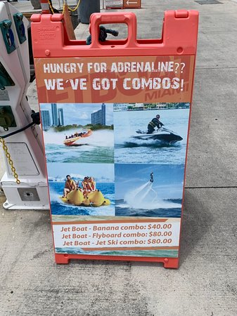 תמונה מ‪Banana Boat Ride in Biscayne Bay‬