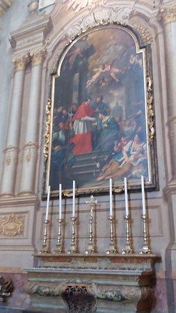 Dipinto di San Carlo Borromeo di Doinato Creti