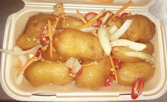 Salt pepper chicken balls