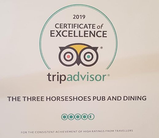 Receivers of a 2019 TripAdvisor Certificate of Excellence.