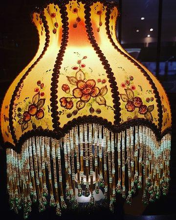 Lampe victorienne