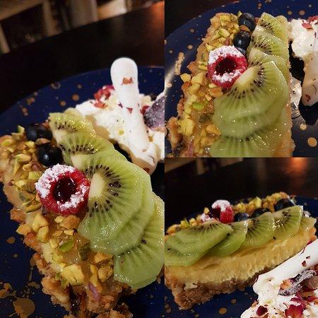 Saint Ouen, فرنسا: Key lime pie - granola
