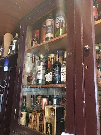 The Rusty Mackerel Bar Restaurant liquor cabinet - Picture