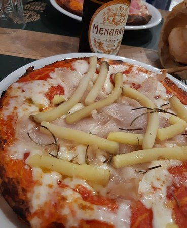 Ottima pizza al tegamino!