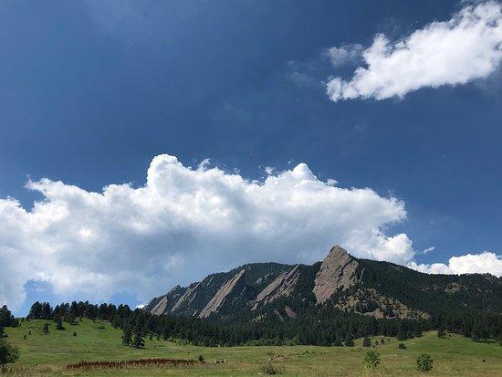 Best of Boulder E-Bike Tour: View of FLATIRONS near Boulder