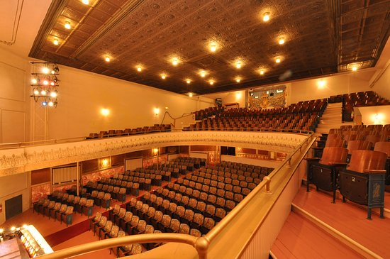 Beverly, MA : The Beautiful auditorium of the Larcom Theatre