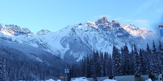 Canadese Rockies, Canada: The stunning Canadian rocky mountains.  I was indulged in the beauty of nature.