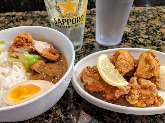 Ramen MENMA: Mini Curry Rice & Karaage