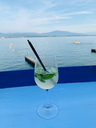 Restaurant de la plage: Dîner au bord de l'eau