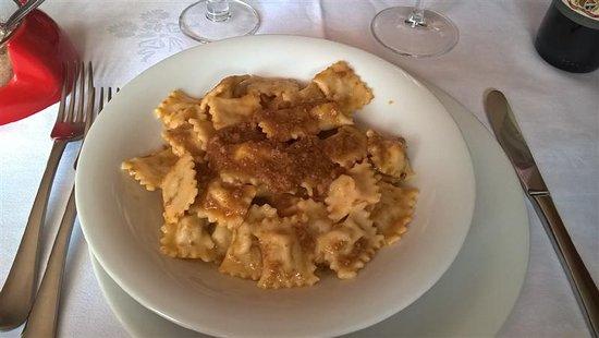 Cabella Ligure, Italy: Ravioli al Sugo di Brasato