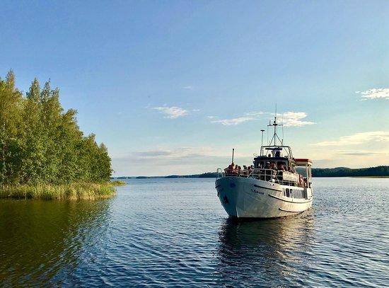 Local transport to Päijänne National Park